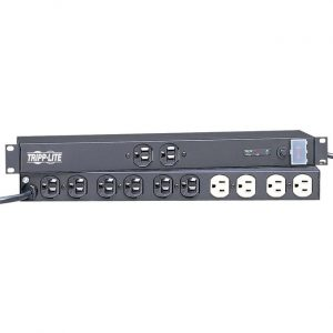 Tripp Lite Isobar Surge Protector Rackmount Metal 12 Outlet 15' Cord 1U RM