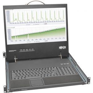 "Tripp Lite Rack Console Short-Depth KVM Cable Kit w/ 19"" LCD VGA 1U TAA"