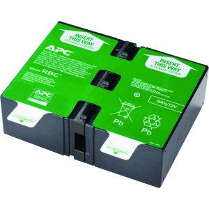 APC by Schneider Electric APCRBC124 UPS Replacement Battery Cartridge # 124
