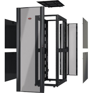APC by Schneider Electric Netshelter SX 42U 750mm Wide x 1200mm Deep Enclosure Without Sides Black