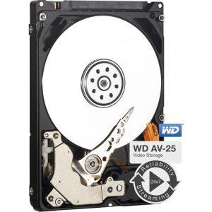 """WD AV-25 WD5000LUCT 500 GB Hard Drive - 2.5"""" Internal - SATA (SATA/300)"""