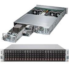 Supermicro SuperServer 2027PR-DTR Barebone System - 2U Rack-mountable - Intel C606 Chipset - Socket R LGA-2011 - 2 x Processor Support