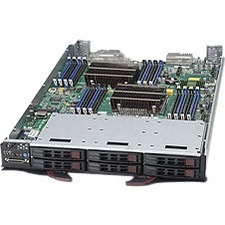 Supermicro SuperBlade SBI-7128R-C6 Barebone System Blade - Intel C612 Express Chipset - Socket LGA 2011-v3 - 2 x Processor Support
