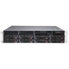 Supermicro SuperServer 6028R-TR Barebone System - 2U Rack-mountable - Intel C612 Express Chipset - Socket LGA 2011-v3 - 2 x Processor Support