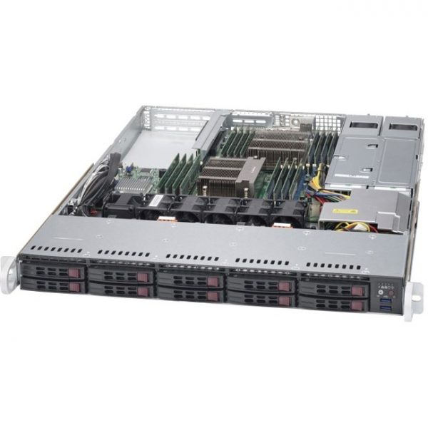 Supermicro SuperServer 1028R-WTRT Barebone System - 1U Rack-mountable - Intel C612 Express Chipset - Socket LGA 2011-v3 - 2 x Processor Support