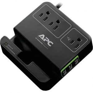 APC by Schneider Electric SurgeArrest Essential 3-Outlets Surge Suppressor/Protector