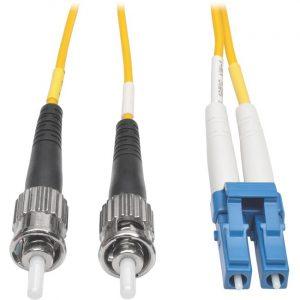 Tripp Lite 2M Duplex Singlemode 9/125 Fiber Optic Patch Cable LC/ST 6' 6ft 2 Meter