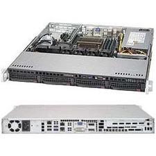 Supermicro SuperServer 5019S-M2 Barebone System - 1U Rack-mountable - Intel Q170 Express Chipset - Socket H4 LGA-1151 - 1 x Processor Support