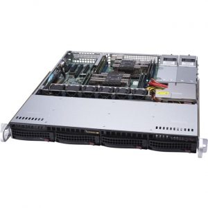 Supermicro SuperServer 6019P-MTR Barebone System - 1U Rack-mountable - Intel C621 Chipset - Socket P LGA-3647 - 2 x Processor Support