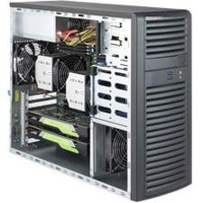 Supermicro SuperWorkstation 7039A-i Barebone System Mid-tower - Intel C621 Chipset - Socket P LGA-3647 - 2 x Processor Support