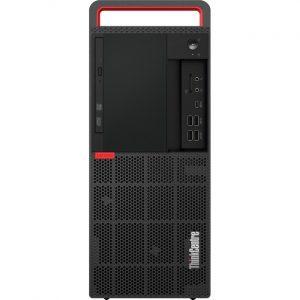 Lenovo ThinkCentre M920t 10SF002CUS Desktop Computer - Intel Core i7 8th Gen i7-8700 3.20 GHz - 16 GB RAM DDR4 SDRAM - 512 GB SSD - Tower - Raven Black