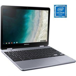 """Samsung Chromebook Plus XE521QAB-K01US 12.2"""" Touchscreen 2 in 1 Chromebook - 1920 x 1200 - Intel Celeron 3965Y 1.50 GHz - 4 GB RAM - 32 GB Flash Memory - Stealth Silver"""