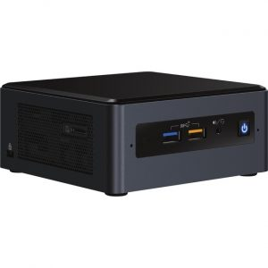Intel NUC 8 Enthusiast NUC8i7BEHGA Desktop Computer - Intel Core i7 8th Gen i7-8559U - 8 GB RAM DDR4 SDRAM - 32 GB Optane Memory - 2 TB HDD - Mini PC