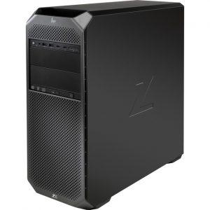 HP Z6 G4 Workstation - Intel Xeon Silver Dodeca-core (12 Core) 4214 2.20 GHz - 32 GB DDR4 SDRAM RAM - 256 GB SSD - Mini-tower - Black
