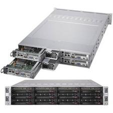 Supermicro SuperServer 6029TR-HTR Barebone System - 2U Rack-mountable - Intel C621 Chipset - Socket P LGA-3647 - 2 x Processor Support