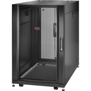 APC by Schneider Electric NetShelter SX 18U Server Rack Enclosure 600mm x 1070mm w/ Sides Black