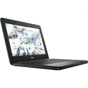"Dell Chromebook 11 3000 3100 11.6"" Chromebook - HD - 1366 x 768 - Intel Celeron N4020 Dual-core (2 Core) - 4 GB RAM - 16 GB Flash Memory - Black"