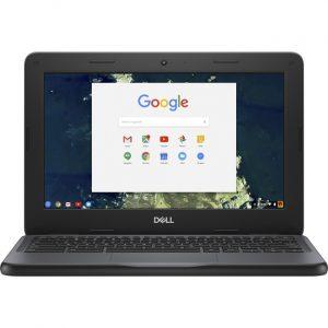 "Dell Chromebook 11 3000 3100 11.6"" Chromebook - HD - 1366 x 768 - Intel Celeron N4020 Dual-core (2 Core) - 4 GB RAM - 32 GB Flash Memory - Black"