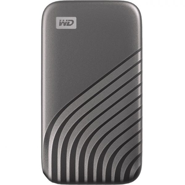 WD My Passport WDBAGF5000AGY-WESN 500 GB Portable Solid State Drive - External - Space Gray