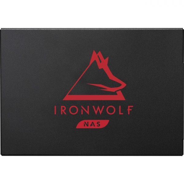 "Seagate IronWolf 125 ZA500NM10002 500 GB Solid State Drive - 2.5"" Internal - SATA (SATA/600) - Conventional Magnetic Recording (CMR) Method"