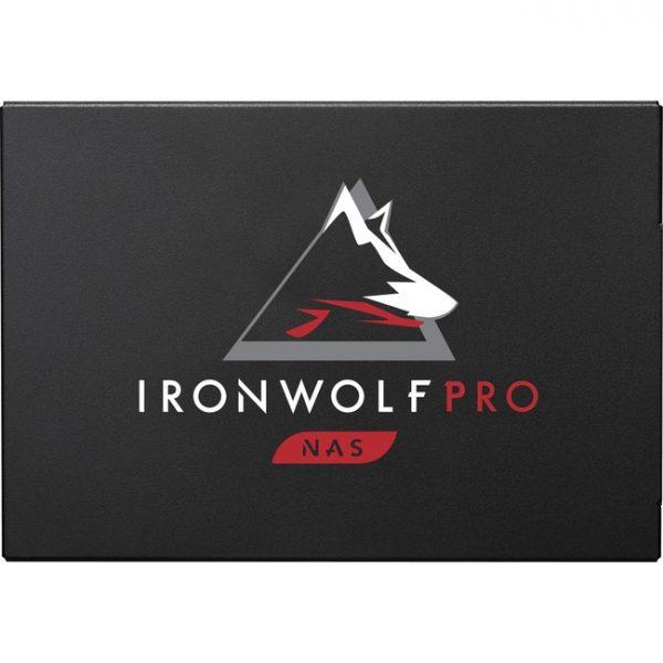 "Seagate IronWolf Pro 125 ZA480NX10001 480 GB Solid State Drive - 2.5"" Internal - SATA (SATA/600) - Conventional Magnetic Recording (CMR) Method"