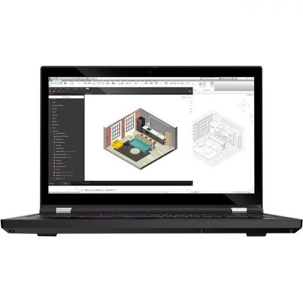"Lenovo ThinkPad T15g Gen 1 20UR004HUS 15.6"" Notebook - Full HD - 1920 x 1080 - Intel Core i9 (10th Gen) i9-10885H Octa-core (8 Core) 2.40 GHz - 32 GB RAM - 512 GB SSD - Glossy Black"