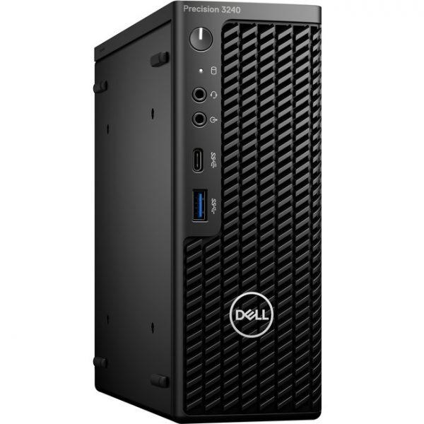 Dell Precision 3000 3240 Workstation - Intel Core i5 Hexa-core (6 Core) i5-10500 10th Gen 3.10 GHz - 8 GB DDR4 SDRAM RAM - 256 GB SSD - Ultra Small