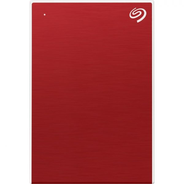 """Seagate One Touch STKB1000403 1 TB Portable Hard Drive - 2.5"""" External - Red"""