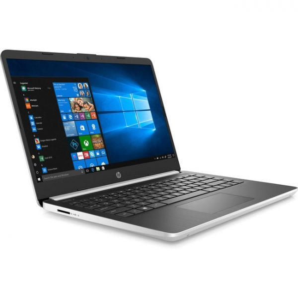 "HP 14-dq1000 14-dq1010ca 14"" Notebook - 1366 x 768 - Intel Core i3 (10th Gen) i3-1005G1 Dual-core (2 Core) 1.20 GHz - 4 GB RAM - 128 GB SSD - Natural Silver - Refurbished"