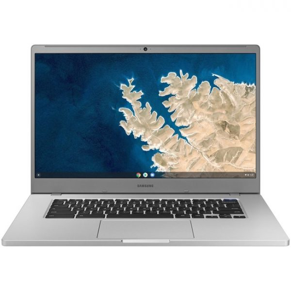 "Samsung Chromebook 4+ XE350XBA 15.6"" Chromebook - Intel Celeron N4020 - 4 GB RAM - 32 GB Flash Memory - Platinum Titan"