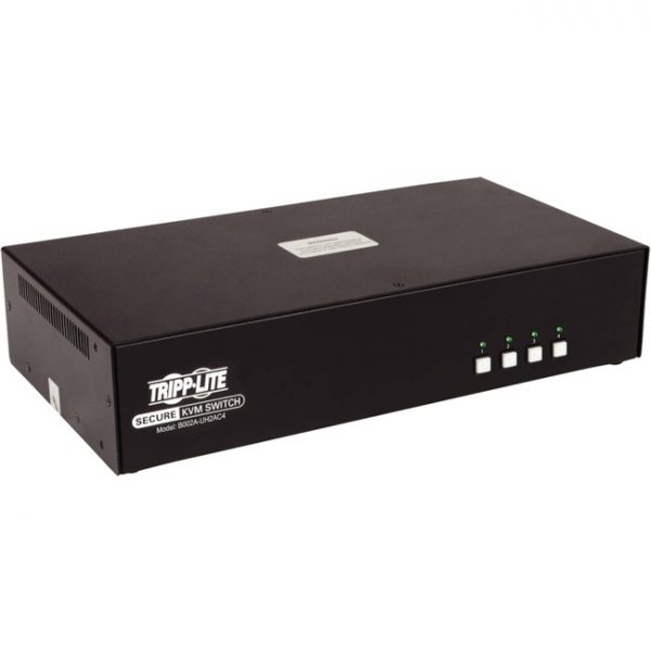 Tripp Lite 4-Port Dual-Monitor Secure KVM Switch