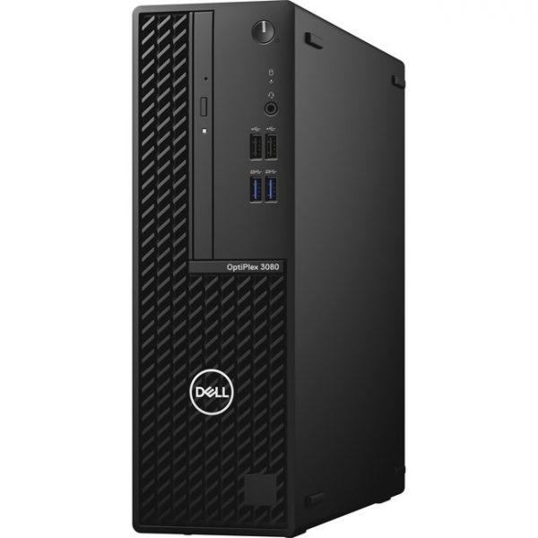 Dell OptiPlex 3000 3080 Desktop Computer - Intel Core i5 10th Gen i5-10505 Hexa-core (6 Core) 3.20 GHz - 8 GB RAM DDR4 SDRAM - 500 GB HDD - Small Form Factor - Black