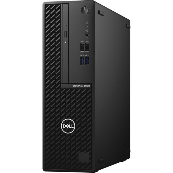 Dell OptiPlex 3000 3080 Desktop Computer - Intel Core i5 10th Gen i5-10505 Hexa-core (6 Core) 3.20 GHz - 8 GB RAM DDR4 SDRAM - 128 GB NVMe M.2 PCI Express M.2 SSD - Small Form Factor - Black