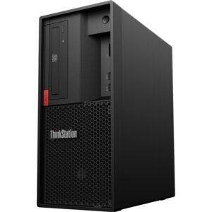 Lenovo ThinkStation P330 30CY0015US Workstation - 1 x Intel Core i7 Octa-core (8 Core) i7-9700 9th Gen 3 GHz - 16 GB DDR4 SDRAM RAM - 512 GB SSD - Tower - Raven Black