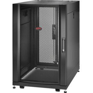 APC by Schneider Electric NetShelter SX 18U Server Rack Enclosure 600mm x 900mm w/ Sides Black