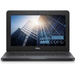 "Dell Chromebook 11 3000 11 3100 11.6"" Touchscreen Chromebook - HD - 1366 x 768 - Intel Celeron N4020 Dual-core (2 Core) 1.10 GHz - 4 GB RAM - 32 GB Flash Memory - Black"