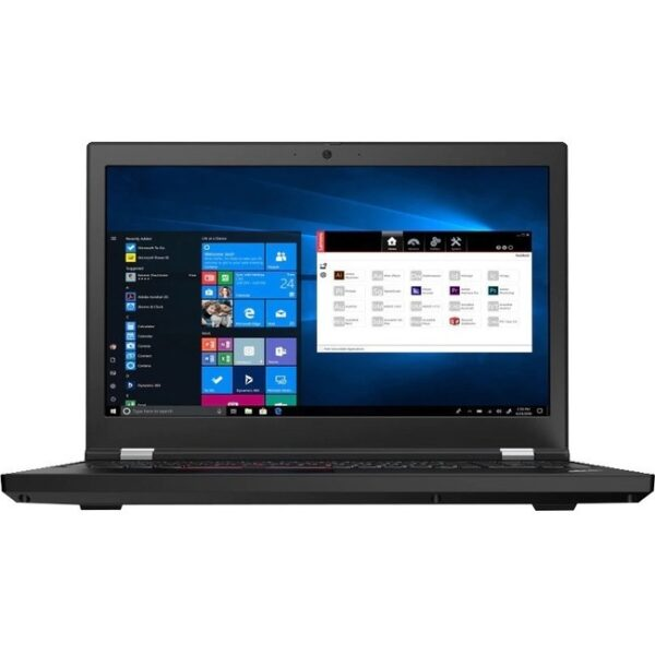 "Lenovo ThinkPad P15 Gen 1 20ST0069US 15.6"" Mobile Workstation - Full HD - 1920 x 1080 - Intel Core i7 (10th Gen) i7-10850H Hexa-core (6 Core) 2.70 GHz - 32 GB RAM - 1 TB SSD - Black"