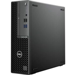 Dell OptiPlex 3000 3080 Desktop Computer - Intel Core i3 10th Gen i3-10100 Quad-core (4 Core) 3.60 GHz - 8 GB RAM DDR4 SDRAM - 128 GB SSD - Small Form Factor