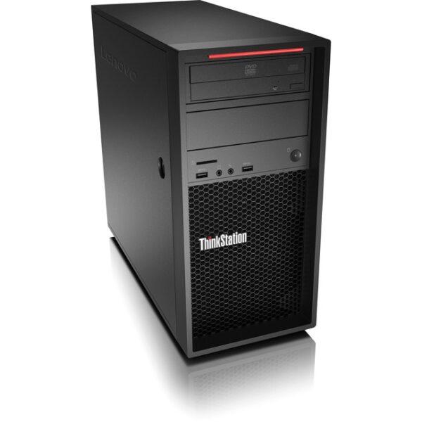 Lenovo ThinkStation P520c 30BX00D2US Workstation - 1 x Intel Xeon Quad-core (4 Core) W-2225 4.10 GHz - 16 GB DDR4 SDRAM RAM - 512 GB SSD - Tower