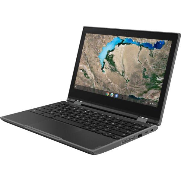 "Lenovo 300e Chromebook 2nd Gen 81MB004UUS 11.6"" Touchscreen Chromebook - HD - 1366 x 768 - Intel Celeron N4020 Dual-core (2 Core) 1.10 GHz - 4 GB RAM - 32 GB Flash Memory - Black"