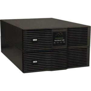 Tripp Lite UPS Smart Online 10000VA 9000W Rackmount 10kVA 200-240V USB DB9 Manual Bypass Switch Hot Swap 6URM