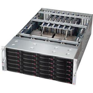 Supermicro 8048B-TRFT Barebone System - 4U Rack-mountable - Socket R1 LGA-2011 - 4 x Processor Support