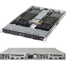 Supermicro 1028TR-T Barebone System - 1U Rack-mountable - Socket LGA 2011-v3 - 2 x Processor Support