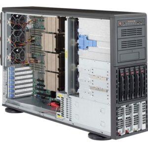 Supermicro 8048B-TR3F Barebone System - 4U Tower - Socket R1 LGA-2011 - 4 x Processor Support