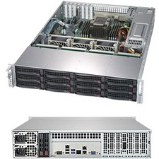 Supermicro SuperStorage 5029P-E1CTR12L Barebone System - 2U Rack-mountable - Socket P LGA-3647 - 1 x Processor Support