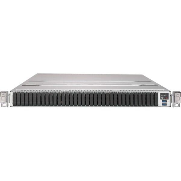 Supermicro SuperStorage 1029P-NMR36L Barebone System - 1U Rack-mountable - Socket P LGA-3647 - 2 x Processor Support