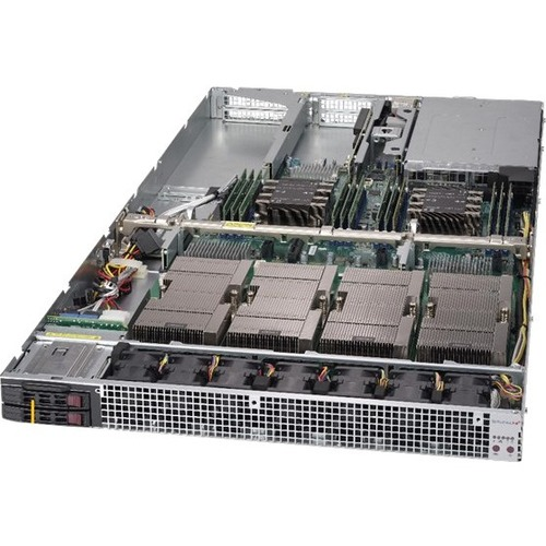 Supermicro SuperServer 1029GQ-TVRT Barebone System - 1U Rack-mountable - Socket P LGA-3647 - 2 x Processor Support