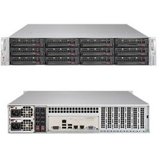 Supermicro SuperStorage 6029P-E1CR12T Barebone System - 2U Rack-mountable - Socket P LGA-3647 - 2 x Processor Support