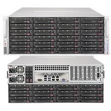 Supermicro SuperStorage 6049P-E1CR36H Barebone System - 4U Rack-mountable - Socket P LGA-3647 - 2 x Processor Support