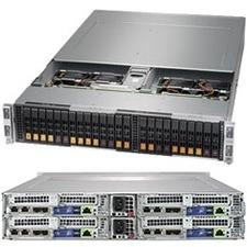 Supermicro SuperServer 2029BT-HNTR Barebone System - 2U Rack-mountable - Socket P LGA-3647 - 2 x Processor Support